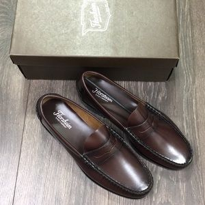 Florsheim Berkley Burgundy Moc Toe Penny Loafers